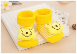 Wholesale Socks Shoe For Kids Girl - Baby Socks For Newborn Baby Sock Shoes Cotton Anti Slip Floor Socks With Rubber Soles For Kids Baby Boy Girl Infant Bebe Sock