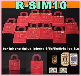 Wholesale T Mobile Iphone 5s Wholesale - 2014 Best Unlock Card ios8 ios 8 R-SIM R SIM RSIM 10 Perfect unlock iphone 6 plus iphone 6 5s 5 4s plus AT&T T-mobile Sprint WCDMA GSM CDMA
