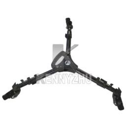 Wholesale Wheeled Tripod - Yunteng 900 Universal Foldable Tripod Skate 3 Wheel Support Stand Aluminium Dolly for Video Camera Professional Equipment