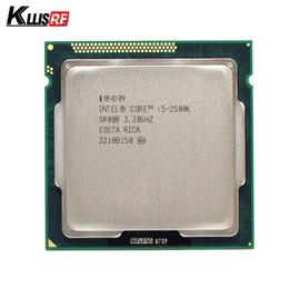 Wholesale Intel I5 Cache - Intel i5 2500K Quad-Core 3.3GHz LGA 1155 Processor TDP:95W 6MB Cache With HD Graphics i5-2500k Desktop CPU