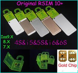 Wholesale Unlocked Softbank - Newest Official R-SIM 10+ rsim10 RSIM 10+ Thin sim Card unlocking for Ios9.X 8.X 7.X For iPhone 4S 5s 5 6 6s Sprint AU Softbank s direct use