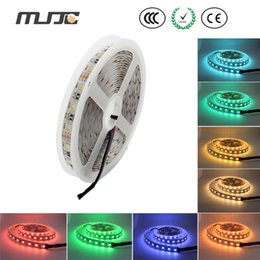 Wholesale Newest Led Strip - 2015 Newest led strips rgbw 4 in 1 chip rgbw led strip light 12VDC 24VDC widely used for hotel ,wedding , party decor