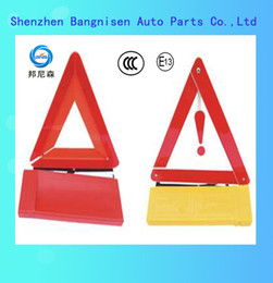Wholesale Triangles Safety Wholesale - Wholesale-High Quanlity Roadway Safety Car Warning Safety Reflective Triangle for Car use