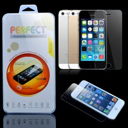 Wholesale Screen Protector Films - For iphone X 6 7 Plus 2.5D 9H Premium Tempered Glass Film Screen Protector for iPhone7 6S 5 5S SE plus