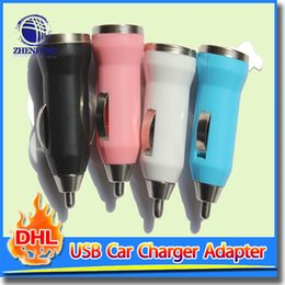Wholesale Dock Iphone 4s Micro - Car Charger Micro Usb 1 A Quick Charger Adapter For Cell Phone For iPhone 5 4S Samsung HTC