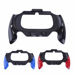 Wholesale Psv Games - Gamepad Plastic Grip Handle Holder Case Bracket for Sony PSV PS Vita 2000 Handsfree Controller Protective Cover Game Accessories