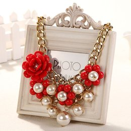 Wholesale Wholesale Statement Jewelry - Top Grade Statement Choker Necklace Hot Sale Fashion Bohemian Bib Chokers Necklaces for Women Girl Jewelry Wholesale Free Shipping 0253WH