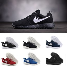 Wholesale Sport Shoes Trainer - Hot sale Classical Run Running Shoes men women black low boots Lightweight Breathable London Olympic Sports Sneakers Trainers size 36-45