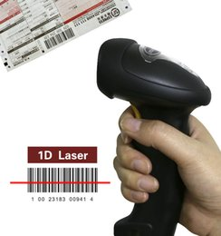 Wholesale Barcode Reader Automatic - Handheld Barcode Reader Scanner 2.4G Wireless USB Automatic Laser Hand Bar Code Scanner Storage of up to 2600 Code Entries CT007X