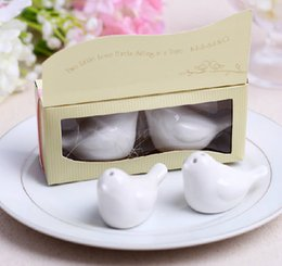 via tools Coupons - Via Fedex IP, The Nest Love Birds Salt and Pepper Shaker Kitchen Tools Party Favors Wedding Fvors and Gifts 100set(2pcs set)
