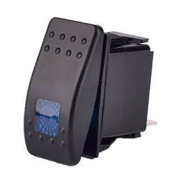 Wholesale Marine Led Rocker Switch - LED ON-OFF illuminated Rocker SPST Switch Car Van Dash Boat Marine