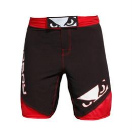 Wholesale Muay Thai Pants - Ferocious Muay Thai Boxing Fitness MMA sports breathable pants muay thai boxing shorts cheap mma shorts boxing clothing boxeo