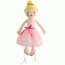 Wholesale Dancing Plush - 50 cm cute Barbie dolls high quality dolls dancing ballet dolls free shipping