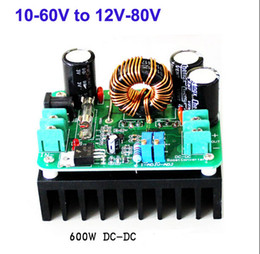 Wholesale Step Up Boost Converter - DC-DC Step Up 10-60V to 12-80V Converter Boost Charger Module 600W