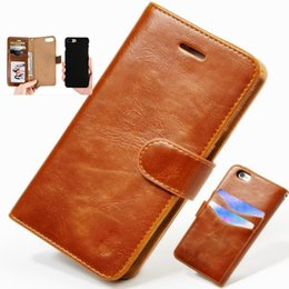 Wholesale Iphone Leather Case Car - Luxury Wallet Phone Case for Iphone X iphone 8 7 6 6s plus 5s S7 Note8 leather Car magnetic Protective case holder defender Cover GSZ199