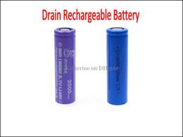 ICR 18350 900 mah 18650C 2200 mah IMB 18650 2500 mah 3.7 V Li-MN haute Drain décharge de la batterie actuelle 35A pour E Cigarette Cig Nemesis King Mod ? partir de fabricateur