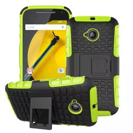 Wholesale Lg G2 Armor Cases - Heavy Duty Rugged Dual Layer Impact Armor KickStand Case Cover For Motorola Moto G MOTO G2 LG G6 G5 G4 mini G4C 100PCS LOT