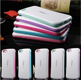 Wholesale Iphone 4s Backing - Newest Colorful iFace Case for iPhone6S 6S Plus 5 5S 5C 4 4S Back Cover US01