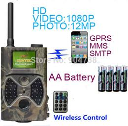 Wholesale Hunt More - Suntek HC300M Hunting Camera 940nm Night Vision Full HD 1080P MMS GPRS Hunting Game Trail Camera