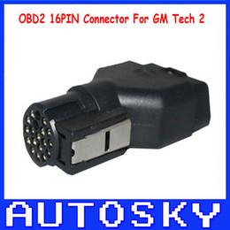 Wholesale Honda Connector Pins - GM Tech2 obd2 16 pin connector for GM TECH2 Diagnostic tool GM Tech2 connector