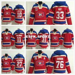 Argentina Enchufe de fábrica, Mens Montreal Canadiens Hoodies # 31 Carey Precio # 33 Patrick Roy Hoodie Sport Hoodie Embroidery Auténticos Sudaderas 239 cheap 33 sweatshirt Suministro