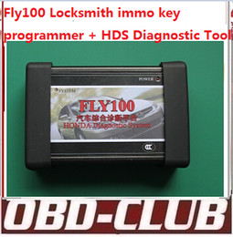 Wholesale Immo Bmw - 2015 Orignal FLY100 forhonda hds fly 100 full locksmith immo key programmer V3.012.031(2014-1-15) fly-100 no need password DHL