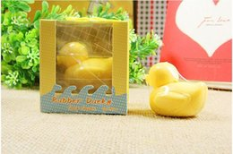 Wholesale Cute Duck Soap - Artistic Scented Little Cute Duck Soaps for Wedding Favor Gift Baby Shower Soap Decorative Hand Soap 1203#03