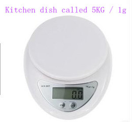 Wholesale Body Foods - Electronic kitchen scale kitchen plate, said food retail, said (5KG   1g) Baking say