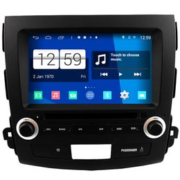 Wholesale Tv Car Dvd Mitsubishi - Winca S160 Android 4.4 System Car DVD GPS Headunit Sat Nav for Mitsubishi Outlander   XL   EX 2007 - 2012 with Wifi Radio Stereo
