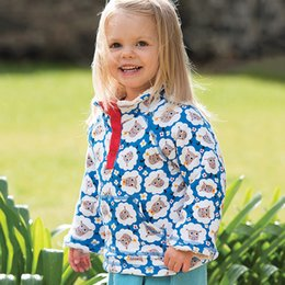 Wholesale Thick Fleece Coat - Girls Winter Jackets&Coats Rainbow Color Kids Jackets for Girls Outerwear Children Clothing Thick Warm Fleece Baby Girls Coat