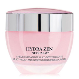 Wholesale Pink Bottles - Fashion!pink bottle 50ml skin care Cream hydratante multi-destressante multi-relief skin care moisturizing day and night facial cream