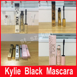 Wholesale Thick Makeup Brush - Kylie Mascara Magic thick slim waterproof mascara Black Eye Mascara Long Eyelash 3D Makeup Silicone Brush