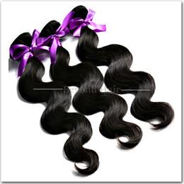 Wholesale Grade 5a Indian Hair - 5A Grade Brazilian Virgin Hair Body Wave Unprocessed Malaysian Indian Peruvian Cambodian Wavy Hair Weave