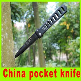 Wholesale Wolf Pocket Knife China - Popular knife China pocket knife wolf Outdoor survival knives EDC survival knife Tactical Tools best christmas gift A463L