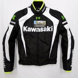 Wholesale Automobile Race - Wholesale-2015 New arrival men motorcycle jacket KAWASAKI automobile motocross motorcycle racing clothing free shipping