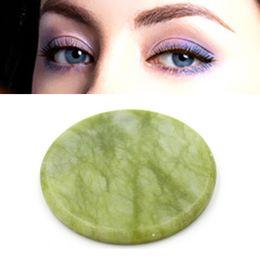 Wholesale Eyelash Glue Stone - 5pcs High Quality Round Jade Stone Eyelash Extension Glue Adhesive Pallet Stand Holder Fake Eye lash Makeup Tool A093H031