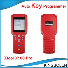 Wholesale Renault Types - 2017 New Generation X100 Pro Auto Key programmer Online Update upgrade more Immobiliser types to 2015 type x-100 pro key maker DHL Free
