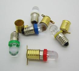 Deutschland Kupferlegierung E10 Lampensockel Halter + 12 V Schraube Birne Weiß Blau Rot Gelb Grün Led Globus Licht Versorgung
