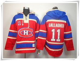 Wholesale Best Prices Hoodies - ICE Hockey Hoodies Jerseys Canadiens Men #11 Gallagher 10 LAFLEUR 33 ROY 31 Price RED Best quality stitching Jerseys Sports jersey Mix Order