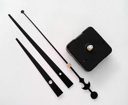 Wholesale Clock Kits Wholesale - 13MM Shaft No Tic Quartz Clock Movement Kit 50PCS Free Shipping