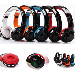 Wholesale Smart Folding Phone - JKR-208B Wireless Bluetooth Folding Headphone Stereo Music Headset withSupport Audio FM radio for Smart Phones PC Free DHL