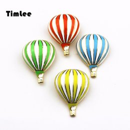 Wholesale wholesale hot air balloon plates - Timlee X004 Cartoon Enamel Pins Cute Hot air Balloon Brooch Pins,Fashion Jewelry Wholesale .