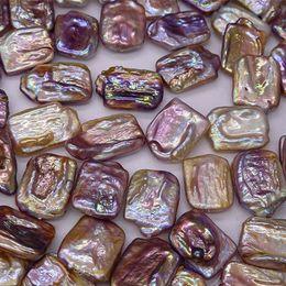 Natürliche barocke perlen großhandel online-Geometrische Deformation Süßwasserperlen 2017 DIY Lose Perlen Farbe Barock Edison Natürliche Perle 16 * 20mm Zubehör Wholesale Freies Verschiffen