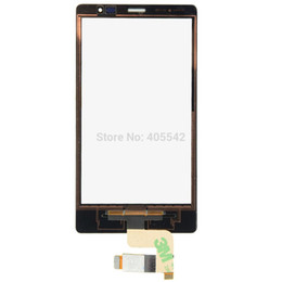Wholesale X2 Sim - Wholesale-High quality!New Black Front Touch Screen Digitizer Replace for Nokia X2 Dual Sim X2DS VA001 P