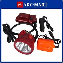 Wholesale Miners Headlights - 5W 25000 LUX LED Miner Headlight Mining Head lamp Chargeable 10pcs lot #HK095