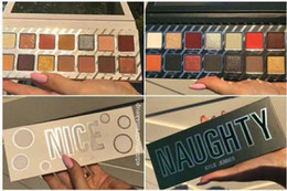Wholesale Nice Gift Set - EPACK NEW Kylie Cosmetics Naughty or Nice Eyeshadow Palette for Christmas gift Choose Your Palette fast shipping