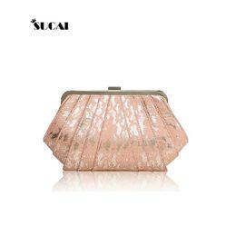 Wholesale Silver Prom Handbags Clutches - Wholesale-Diana package women bag new lace prom evening bags clutch bride bag chain shoulder diagonal Shoulin handbag