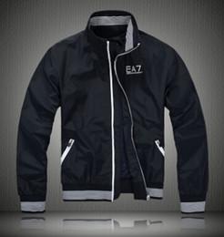 Wholesale Men Classic Coat - Fall-New 2015 Jacket Men Fashion Classic Men ralp Jacket Zip Pocket Coat Outwear Work Casual Men Windproof windbreaker sport Jacket