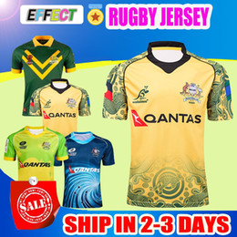 Wholesale Team Black Clothes - 2017 18 Australia Sydney Roosters champion AIG Supper Rugby Jersey All Black Rugby NRL Shirt Teams Rugby Clothes Football Uniform