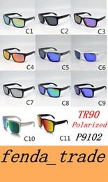 Wholesale Wholesale Rimless Sunglasses - TR90 Picture frame 2017 NEW man women brand sunglasses Designer design 9102 High quality polarizedlens sunglasses color11 MOQ=10